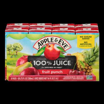 100% Juice- Apple Juice Apple & Eve, 8 x 200 ml