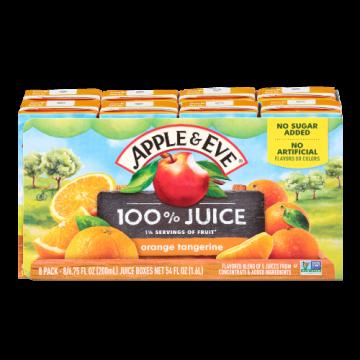 100% Juice- Orange Tangerine Apple & Eve, 8 x 200 ml