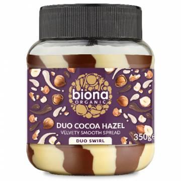 Biona Organic Duo Chocolate Hazelnut Spread, 350g