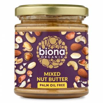 Biona Organic Mixed Nut Butter, 170g
