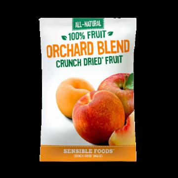 All-Natural 100% Fruit Orchard Blend Crunch Dried Fruit Sensible Foods, 9 g